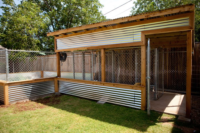 Home improvement operation dog kennels nizhoni pet for Dog run outdoor kennel house